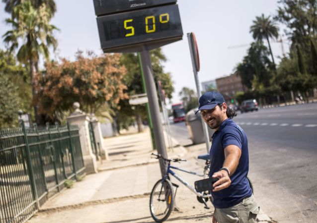 Un termómetro