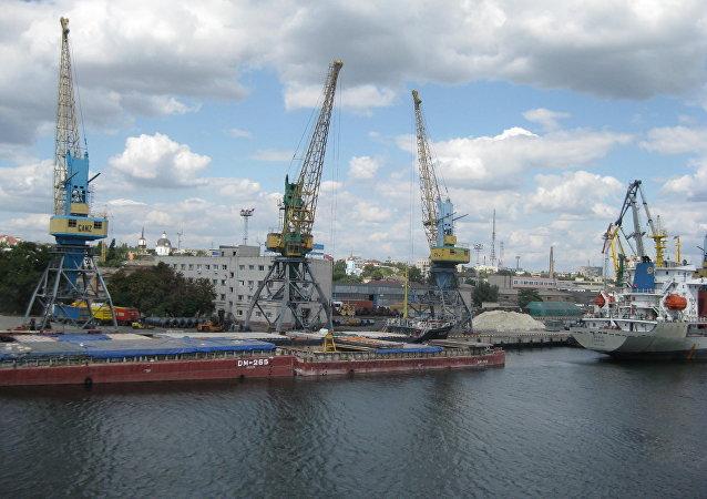 El puerto de Jersón (archivo)
