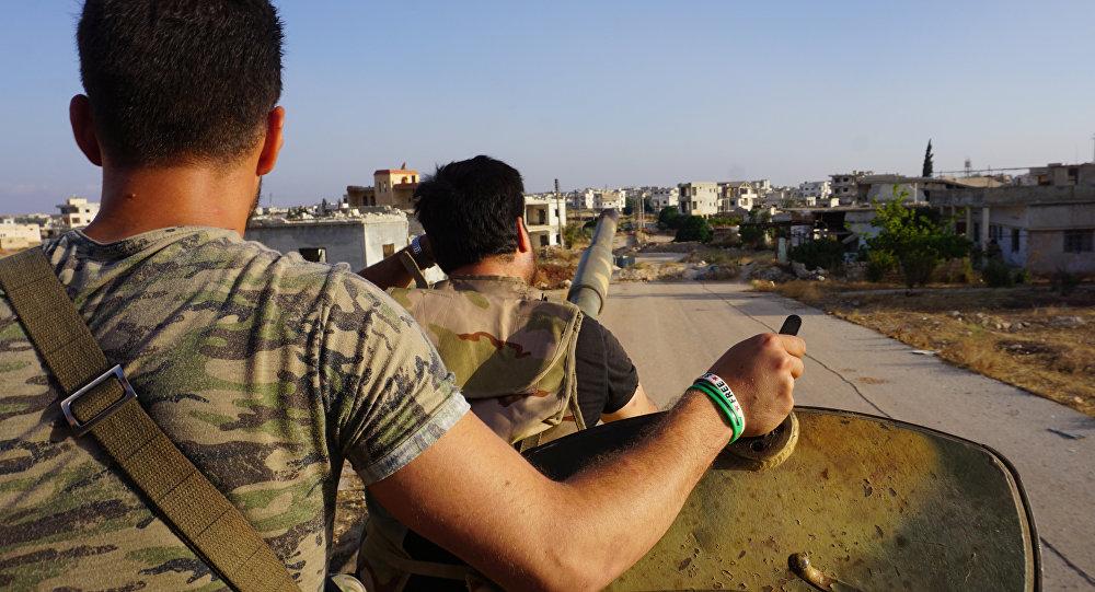 Insurgentes en la provincia siria de Idlib (archivo)