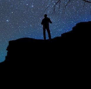 Cielo nocturno, imagen referencial