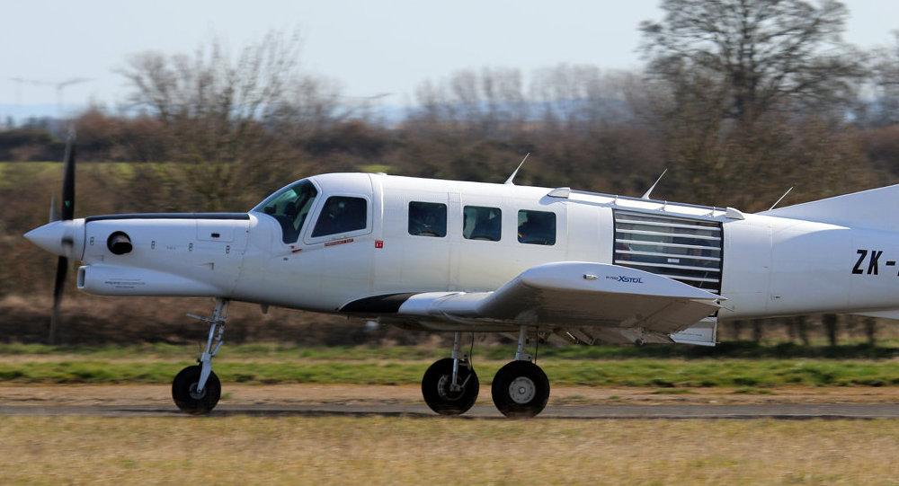 Una avioneta PAC 750, foto de archivo