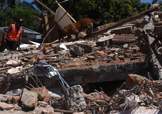 Terremoto en Indonesia (archivo)