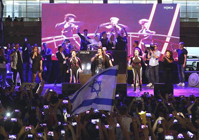 Netta Barzilai, cantante israelí, ganadora de la Eurovisión 2018