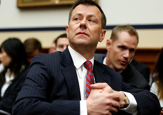 Peter Strzok, exagente del FBI