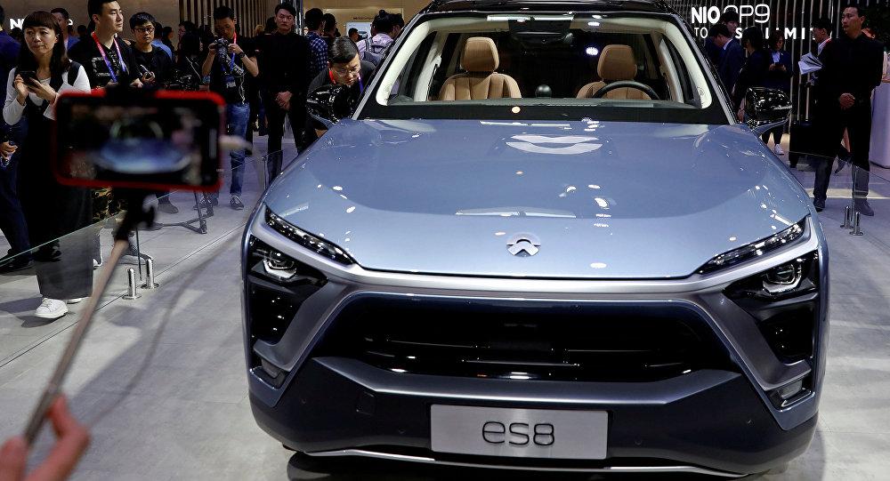 El NIO ES8, el nuevo vehículo eléctrico chino