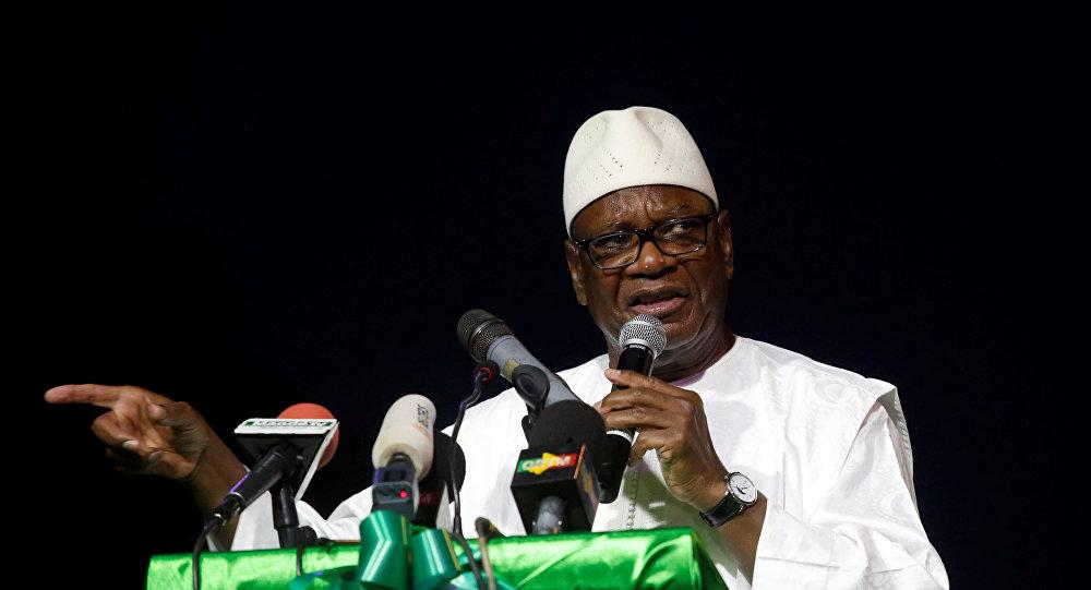 Ibrahim Boubacar Keita, presidente de Malí