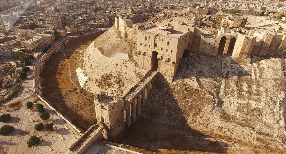 La ciudadela de Alepo