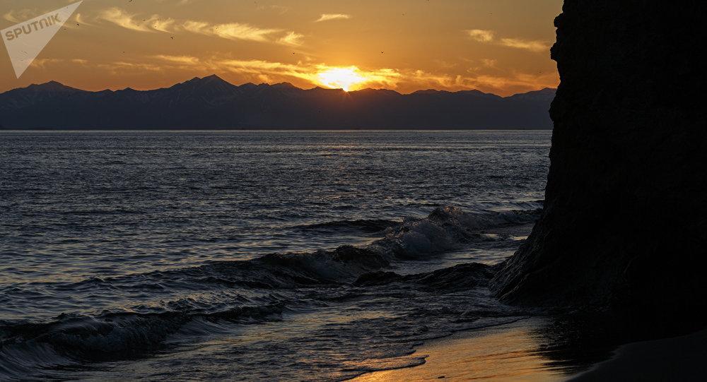 Una playa en Kamchatka (archivo)