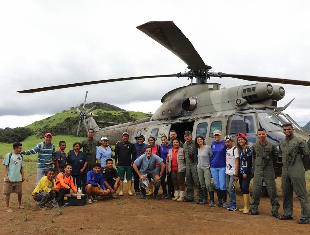 Grupo médico venezolano se dedica a la atención de indígenas en comunidades remotas