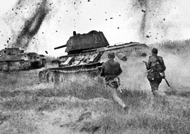 Ofensiva de las tropas soviéticas durante la batalla de Kursk (31 de julio de 1943)
