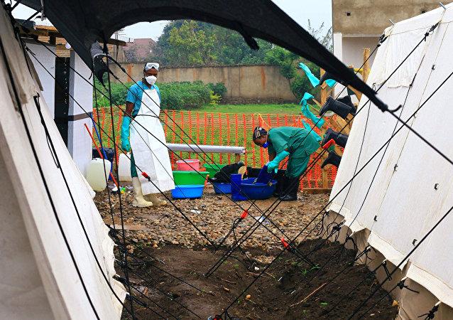 Médicos congoleses