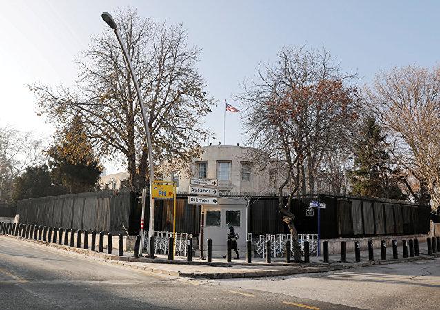 La embajada de EEUU en Ankara, Turquía (archivo)