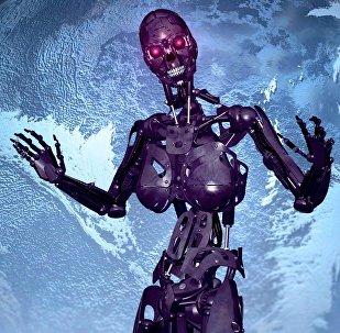 Un robot, imagen referencial