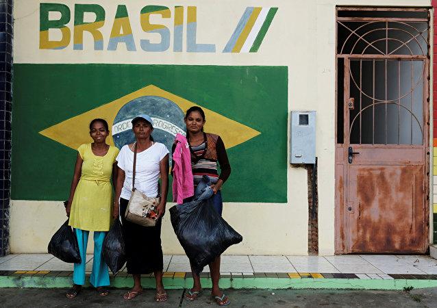 Migrantes venezolanas en el estado de Roraima, Brasil
