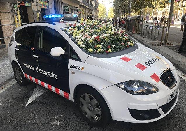 Un vehículo de los Mossos d'Esquadra (imagen referencial)