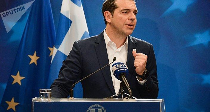 Alexis Tsipras, primer ministro de Grecia (archivo)