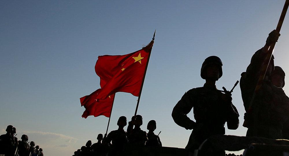 Desfile con motivo del 90 aniversario de la creación del Ejército Popular de Liberación de China. Zhurihe, 30 de julio de 2017.