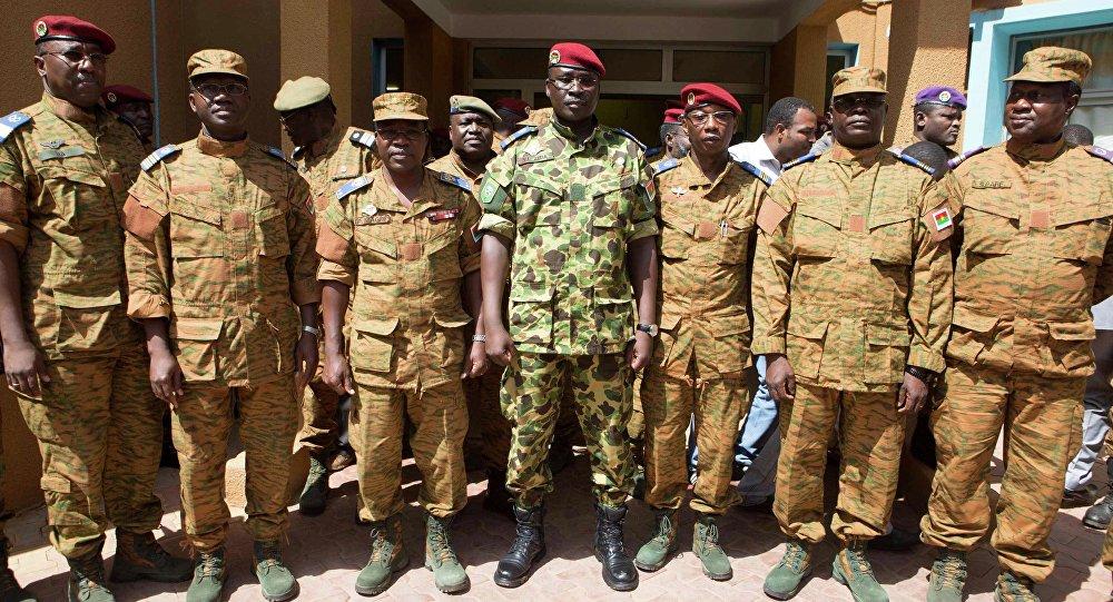 Los soldados de Burkina Faso (archivo)