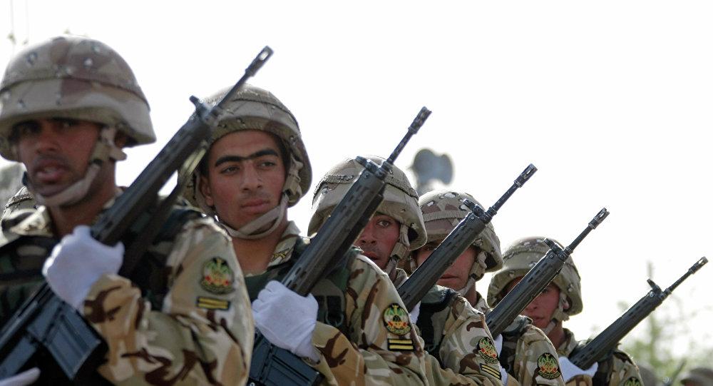 Soldados iraníes