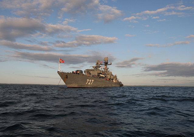 La fragata rusa (archivo)