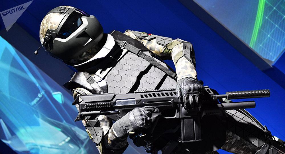 El prototipo del traje militar ruso de nueva generación Soldado del Futuro (archivo)