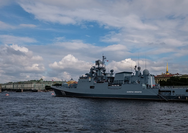 El buque patrullero Almirante Makarov (archivo)