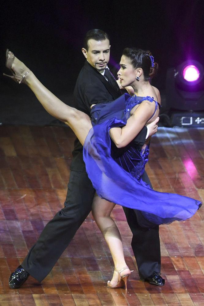 Una pareja rusa gana el Mundial de Tango en Argentina