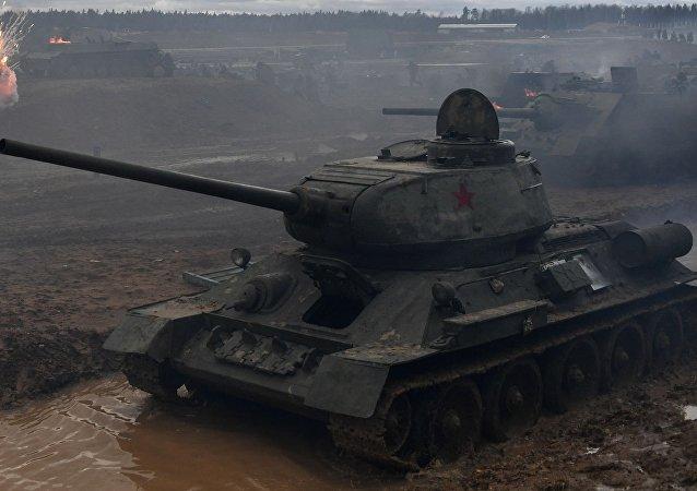 Un tanque Т-34