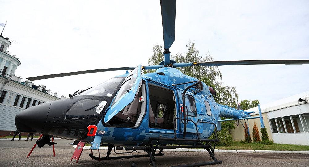 Un helicóptero Ansat
