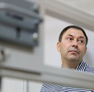 Kiril Vishinski, director del portal RIA Novosti Ukraina