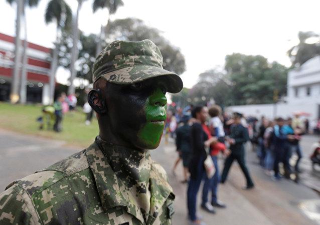 Un militar paraguayo