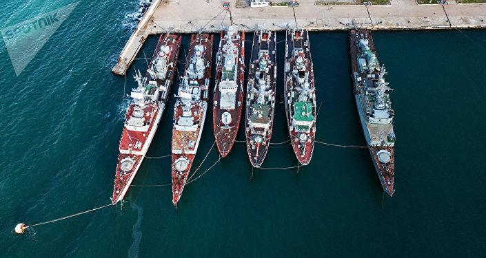 Los buques militares que anteriormente formaron parte de la Armada de Ucrania