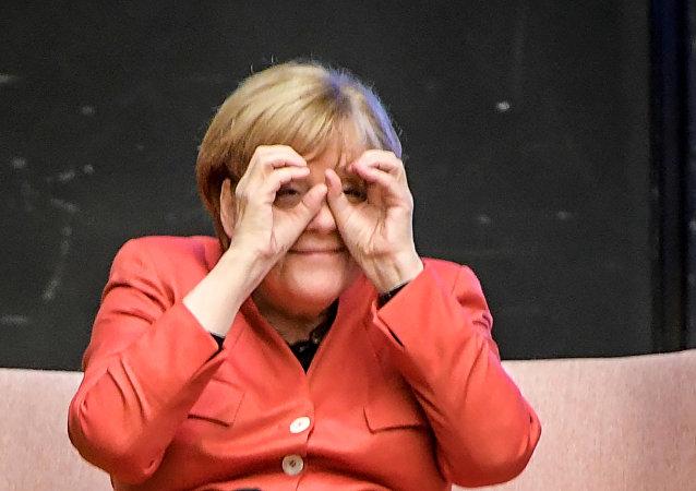 Ángela Merkel, canciller aleman (archivo)