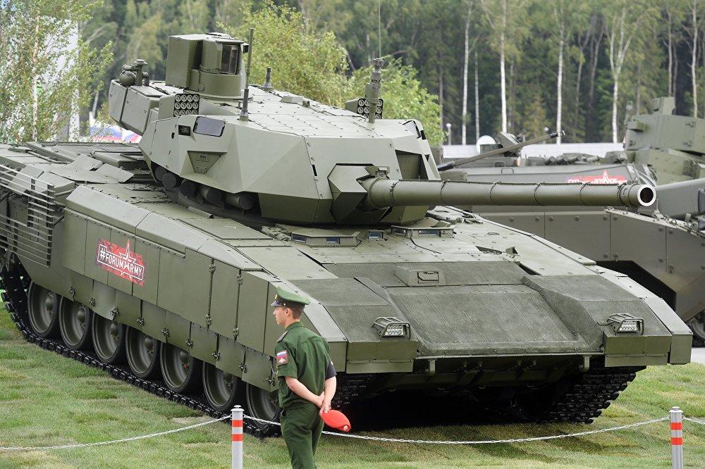 El T-14 es un tanque de próxima generación basado en la plataforma de combate universal Armata, destinado a ser próximo carro de combate principal del Ejército ruso