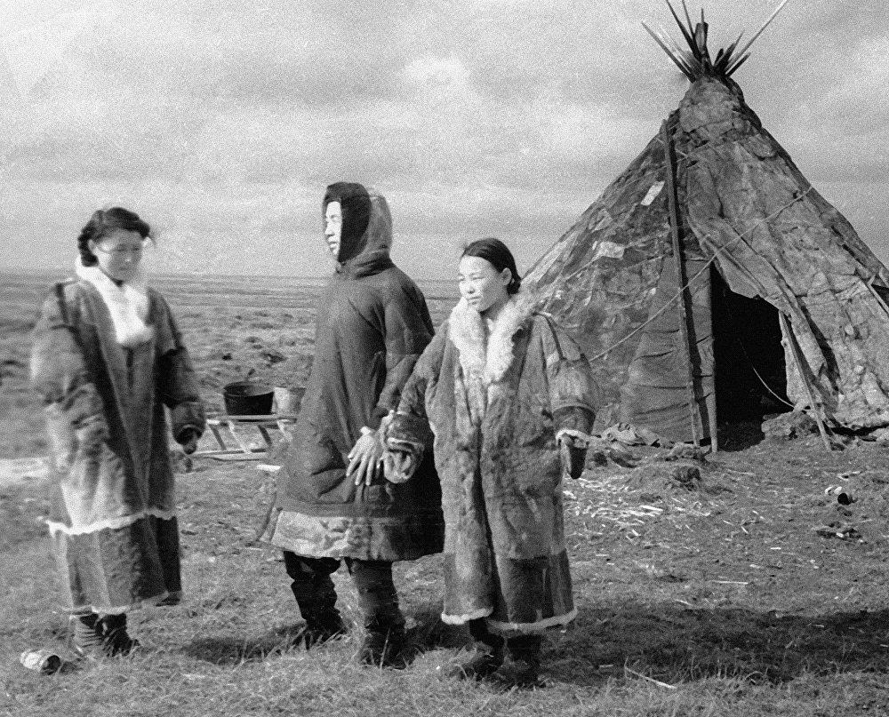 Los indígenas mansi, foto de archivo