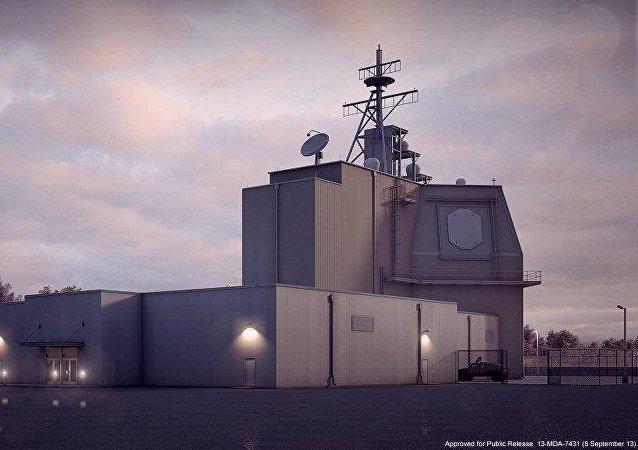 Un sistema antimisiles estadounidense Aegis Ashore