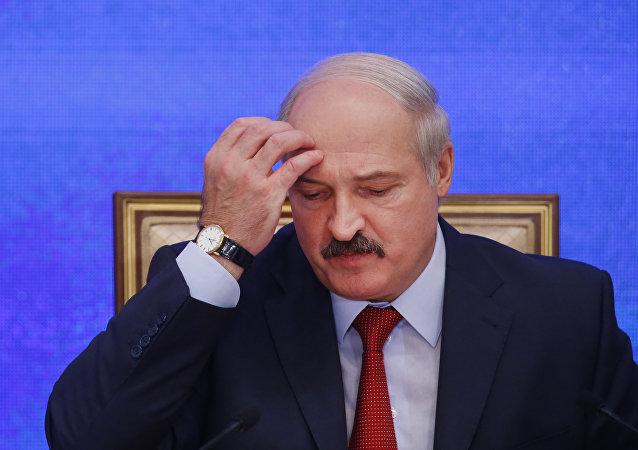 El presidente de Bielorrusia, Alexandr Lukashenko