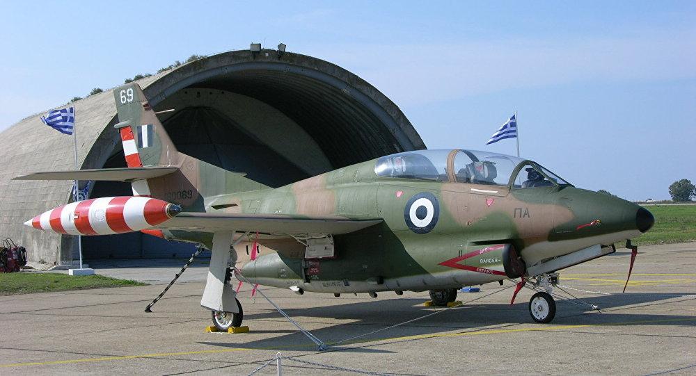 Un avión T-2E Buckeye (imagen referencial)