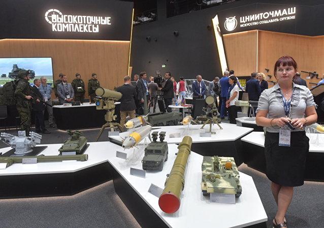 La corporación Rostec en el Foro Internacional de Defensa Army 2018