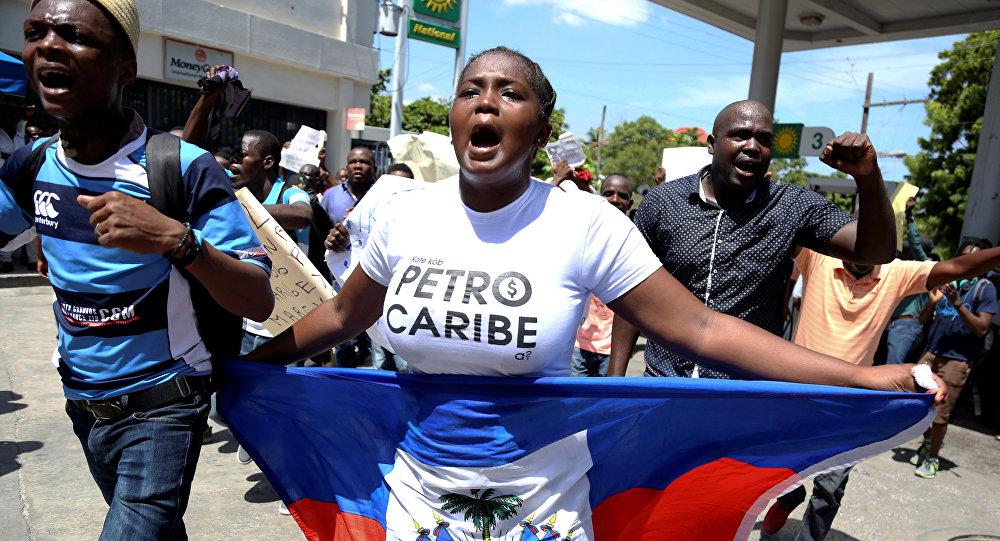 Protestas pacíficas en Haití contra la corrupción y la malversación de los fondos de Petrocaribe
