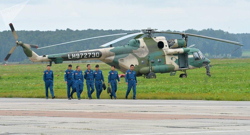 Ejercicios antiterroristas conjuntos de la Organización de Cooperación de Shanghái (OCS) Misión de Paz 2018