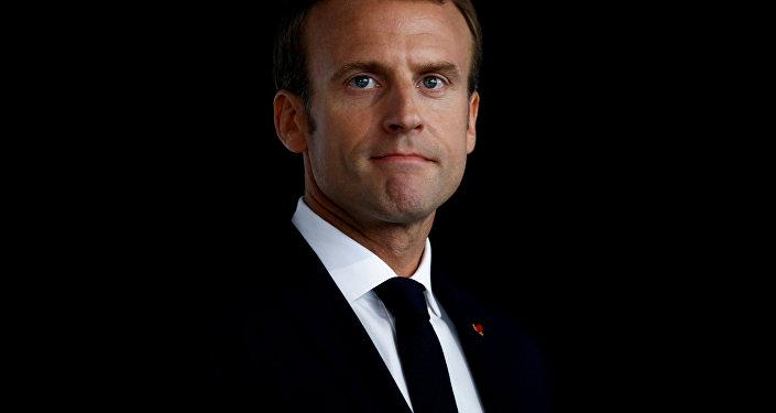 Emmanuel Macron, presidente francés