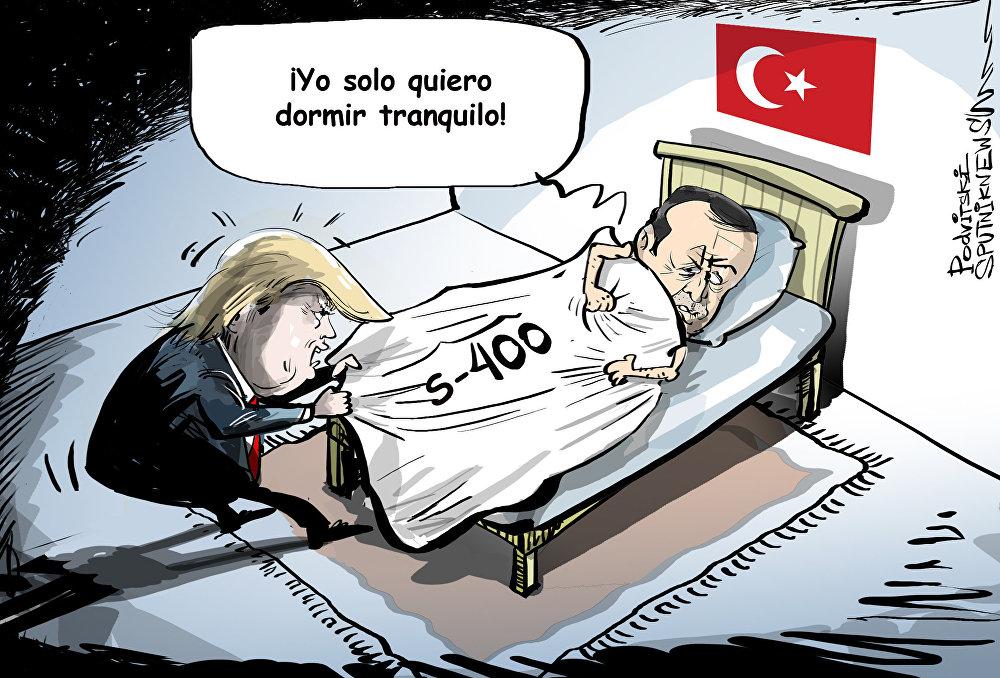 Estados Unidos no deja Turquía en paz