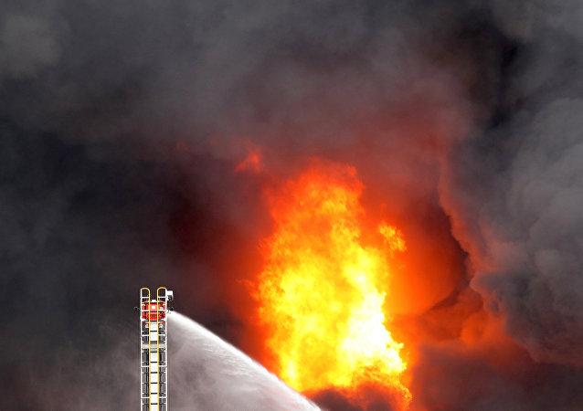 Incendio en Melbourne