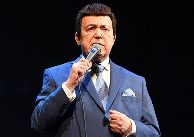 Iósif Kobzón, cantante ruso