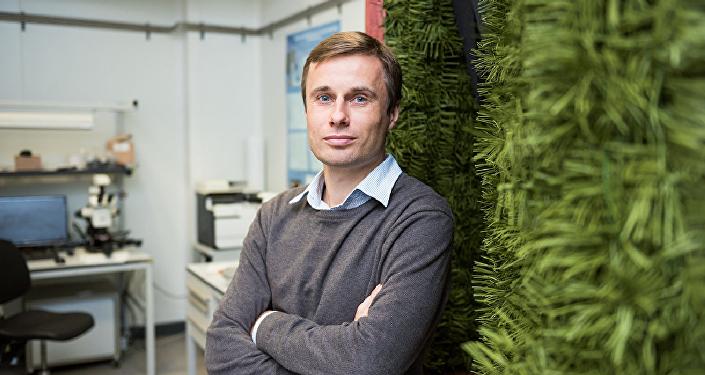 Alexéi Basharin, jefe del proyecto Anastasia por parte de la MISiS