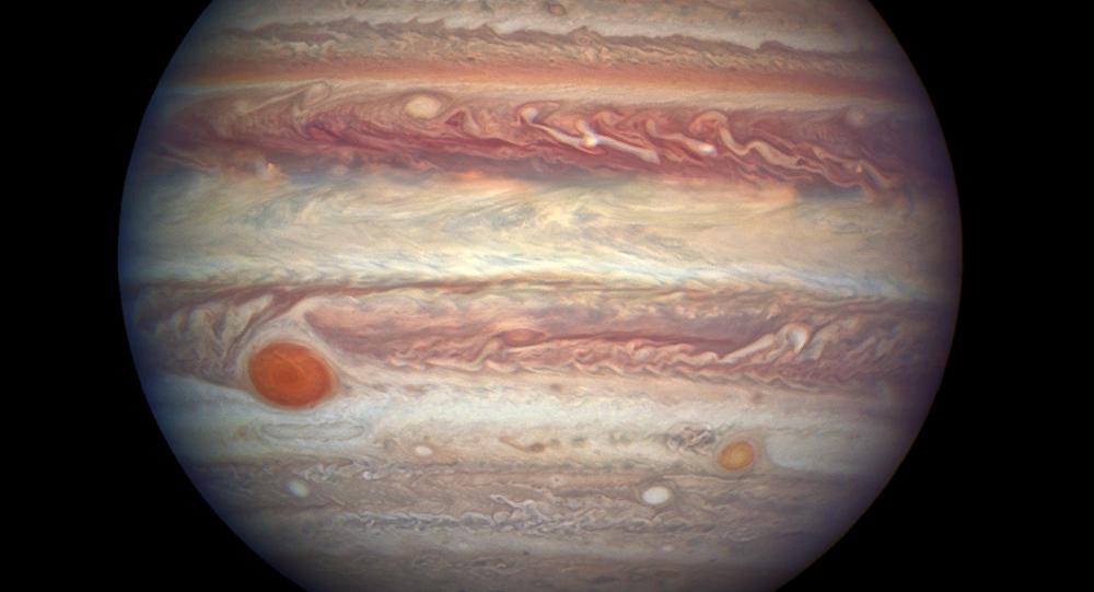 Gran Mancha Roja de Júpiter (archivo)