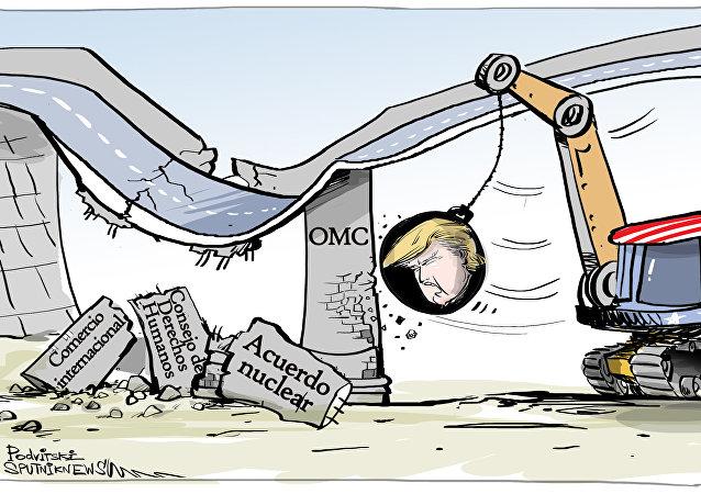La OMC cae en desgracia para Trump