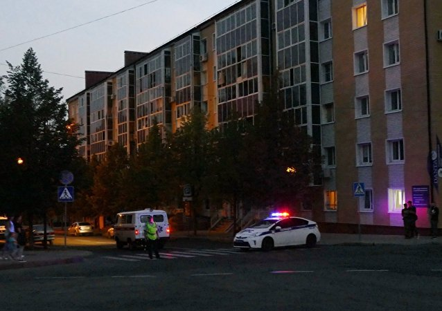 Centro de Donetsk después del atentado contra Alexandr Zajárchenko, jefe de la República Popular de Donetsk