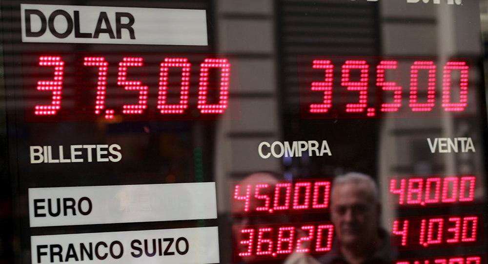 Tipo de cambio del dólar en Argentina